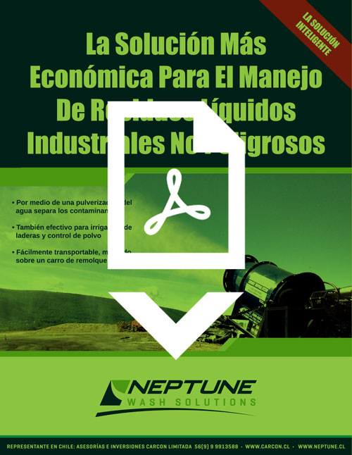 IES/Neptune Evaporation & Dust Suppression Brochure in Spanish