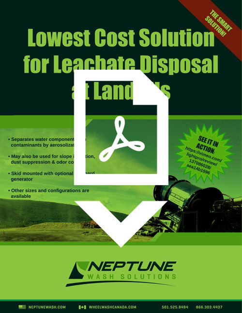 IES/Neptune Leachate Disposal Brochure