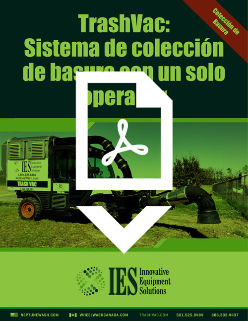 IES/Neptune TrashVac Brochure in Spanish