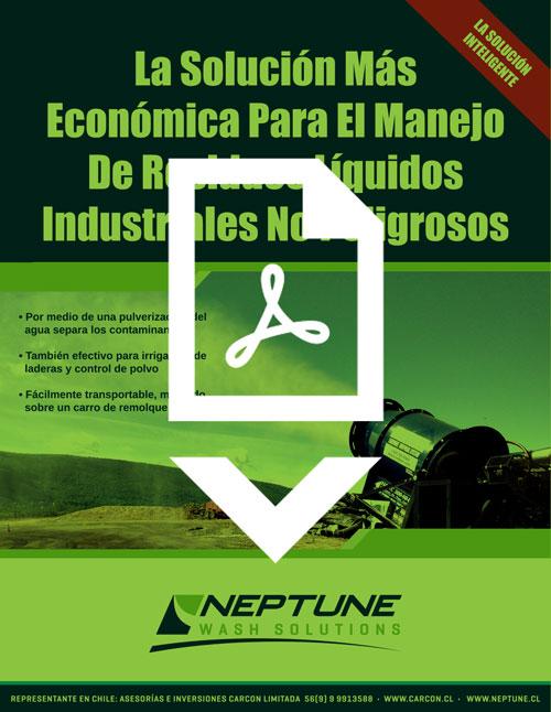 IES/Neptune Evaporation & Dust Suppression Brochure in Spanish