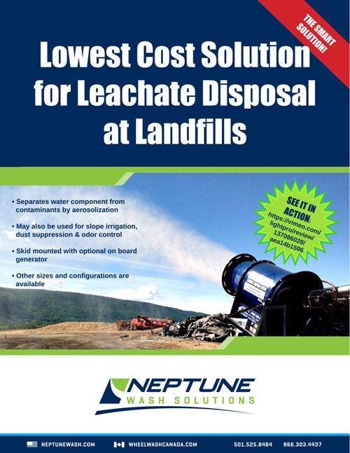 IES/Neptune Leachate Disposal Brochure