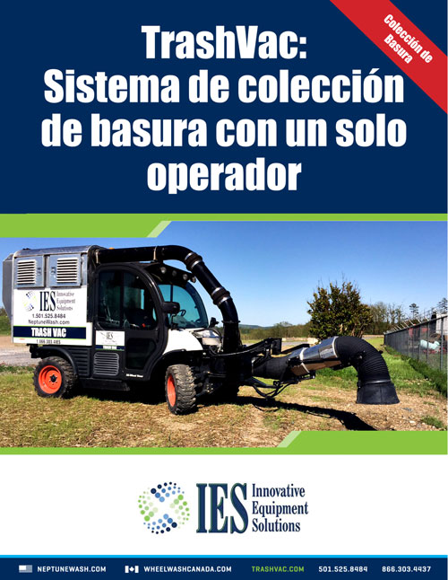 IES/Neptune TrashVac Brochure in Spanish