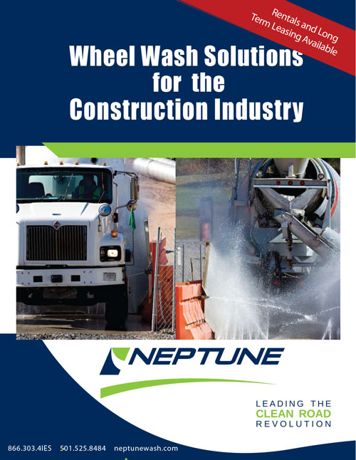 IES/Neptune Wheel Wash Systems for Construction Brochure